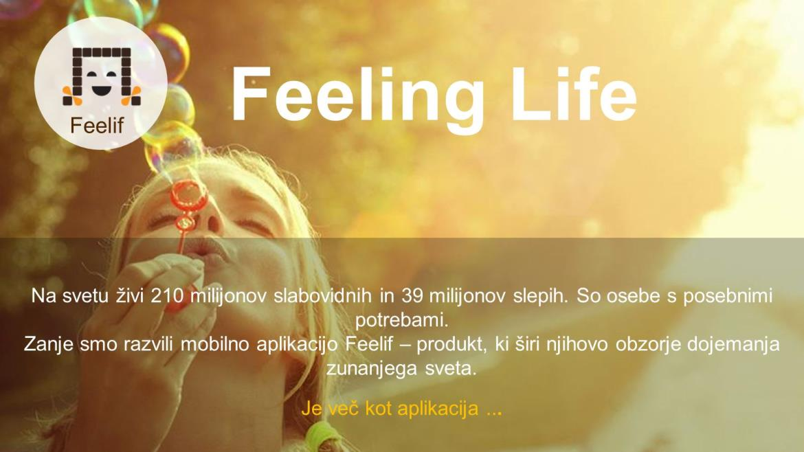 FeelIF is one of the 5 finalist of Start:up Slovenia
