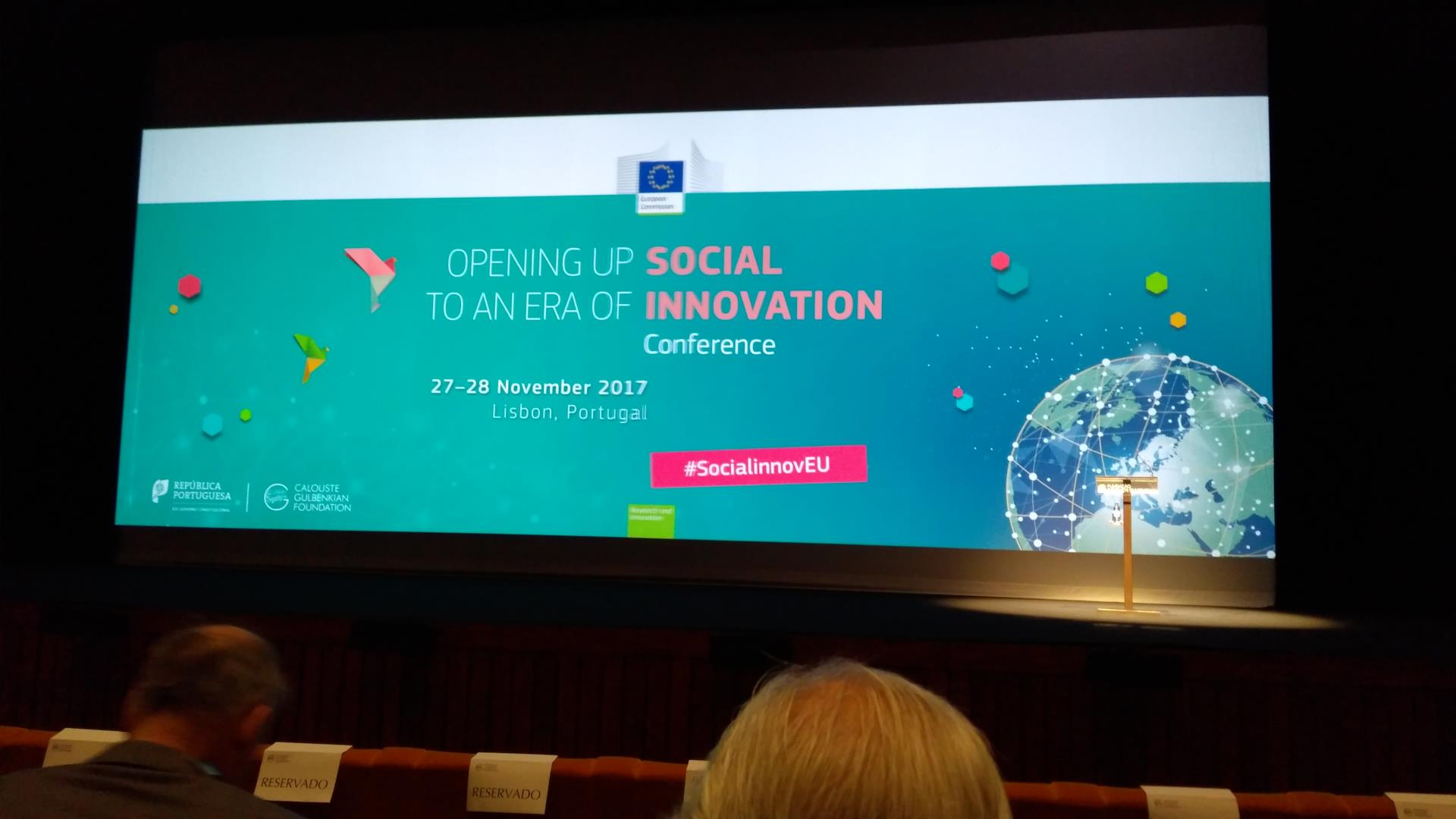 Feelif in Lisbon, Portugal - Social Innovation Conference