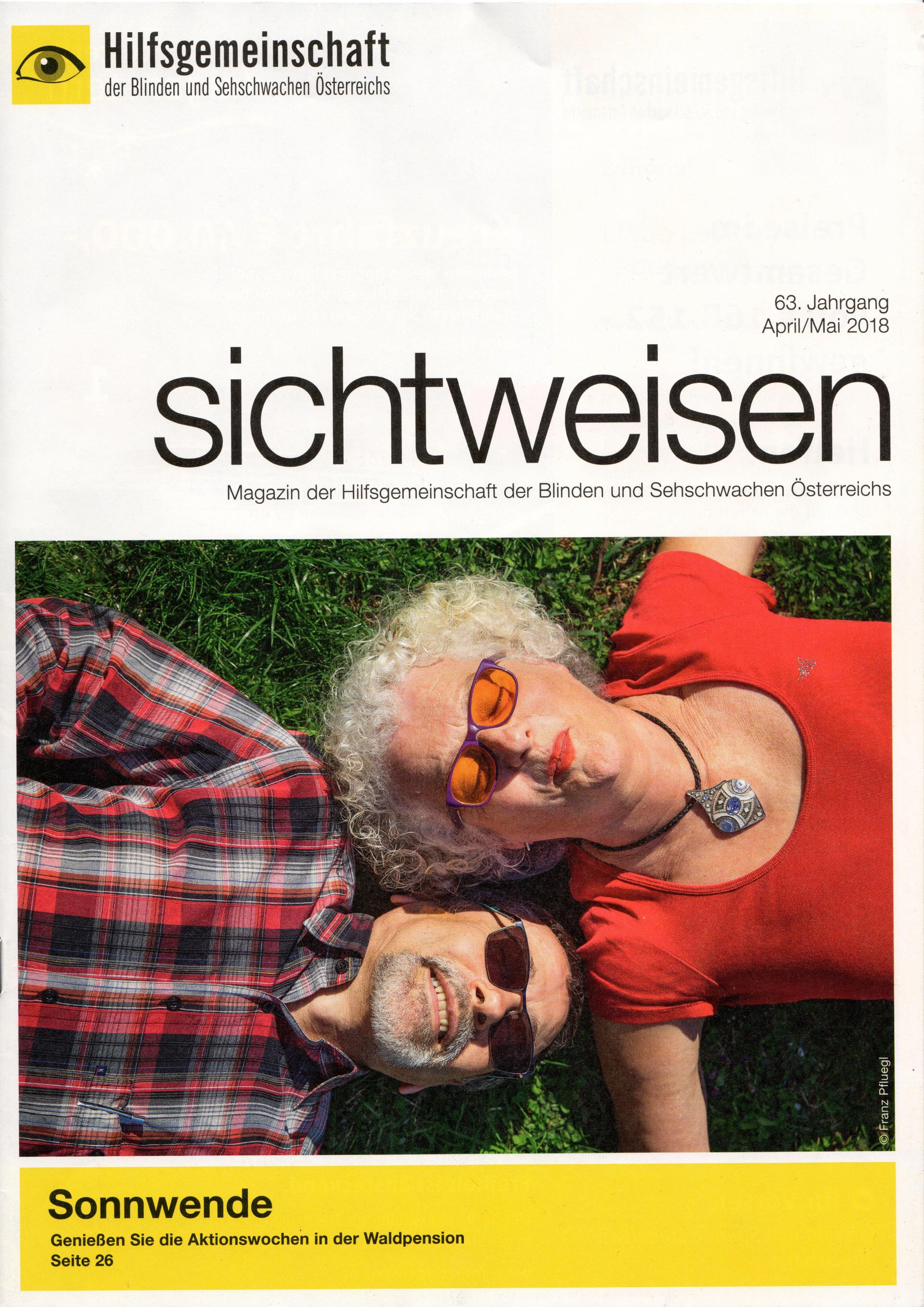 We were published in the German magazine Sichtweisen