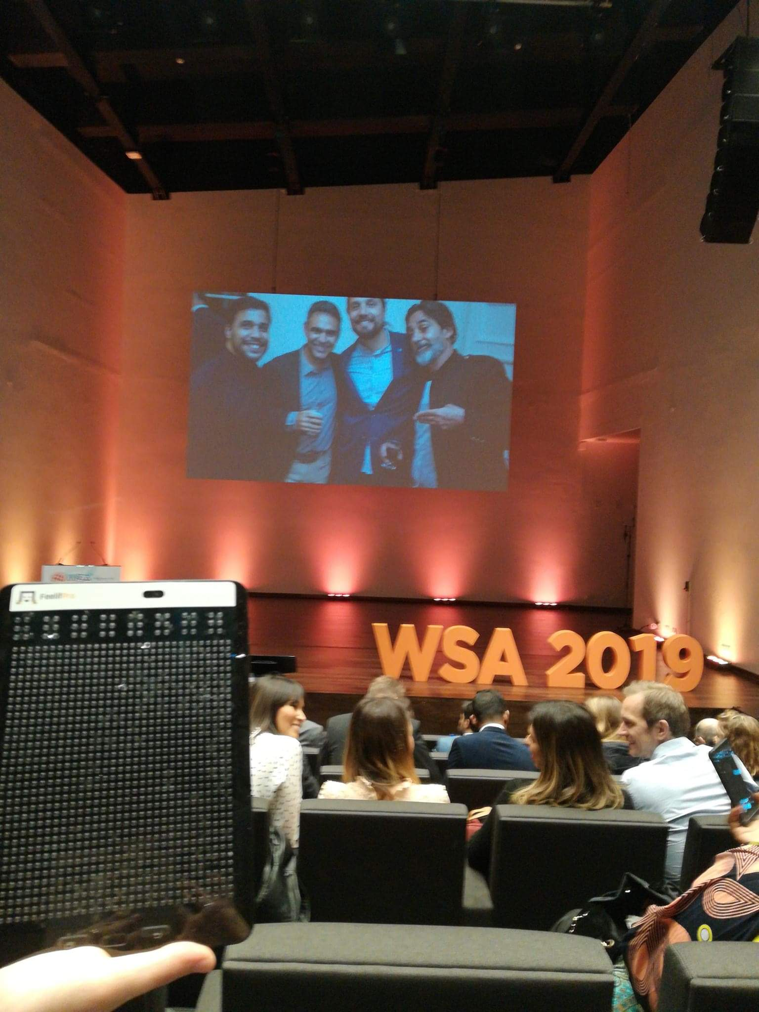 Feelif on WSA Global Congress Cascais 2019